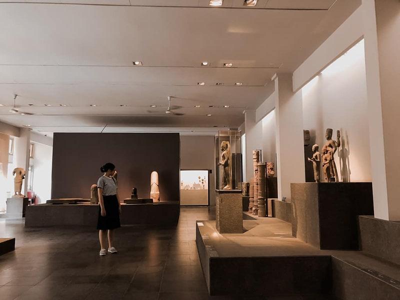 Những hiện vật bên trong bảo tàng lịch sử Việt Nam
