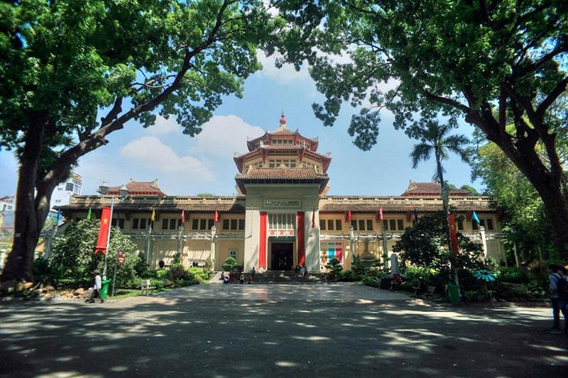 Bảo tàng Lịch sử Việt Nam được xây dựng năm 1929