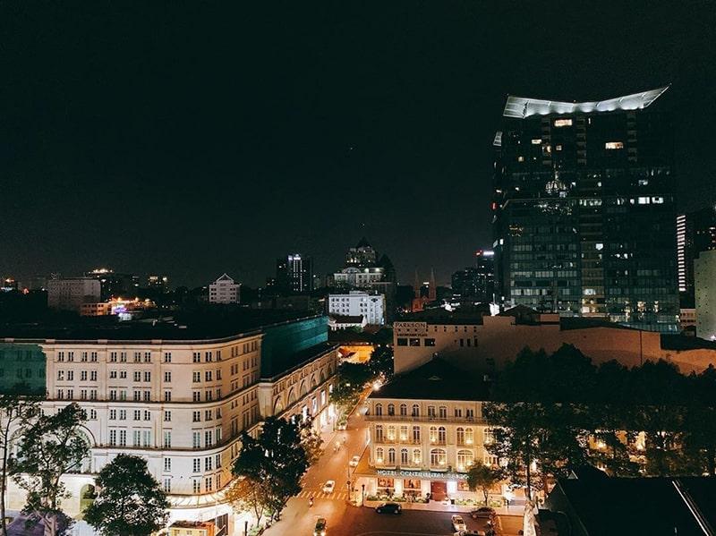 Sài Gòn nhìn từ Saigon Saigon Bar