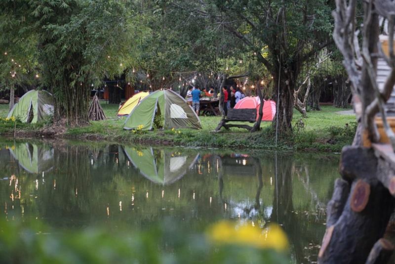 Cắm trại ở Khu du lịch sinh thái Bò Cạp Vàng