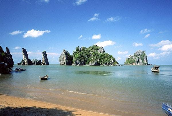Bãi biển Mũi Nai - Kiên Giang