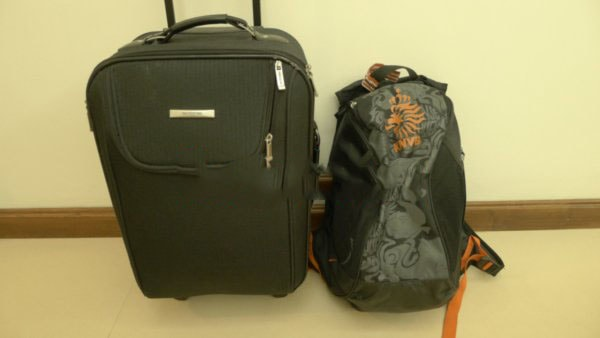Mang hành lý đủ dùng