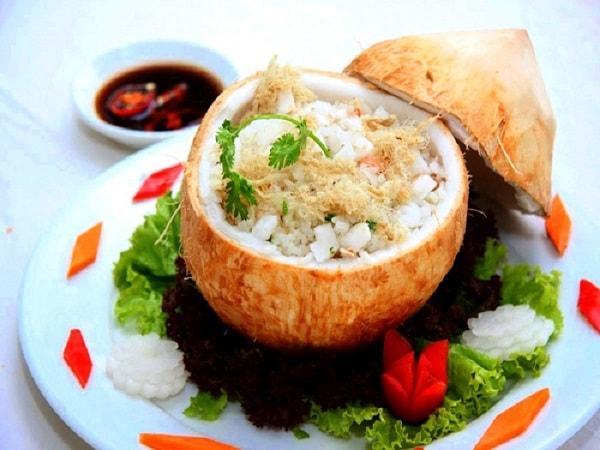 Cơm dừa - đặc sản vùng Bến Tre