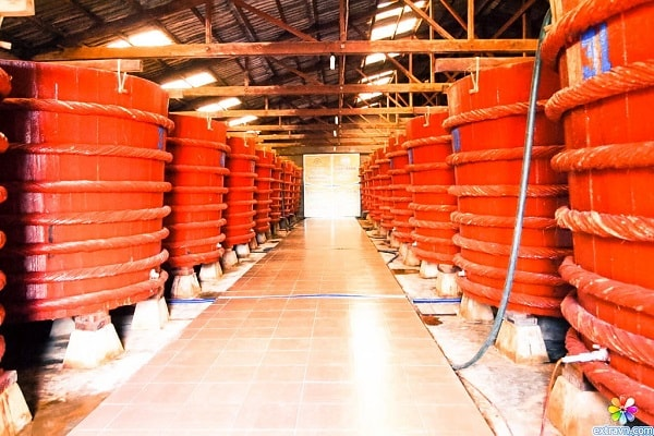 Không gian ngôi nhà thùng nước mắm ở Phú Quốc