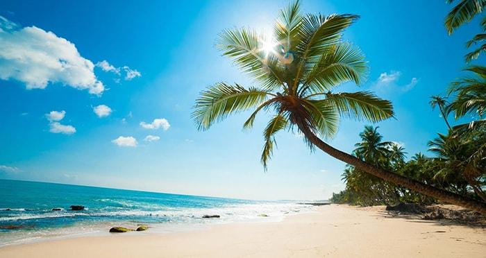 Biển Phú Quốc xanh ngắt 1 màu