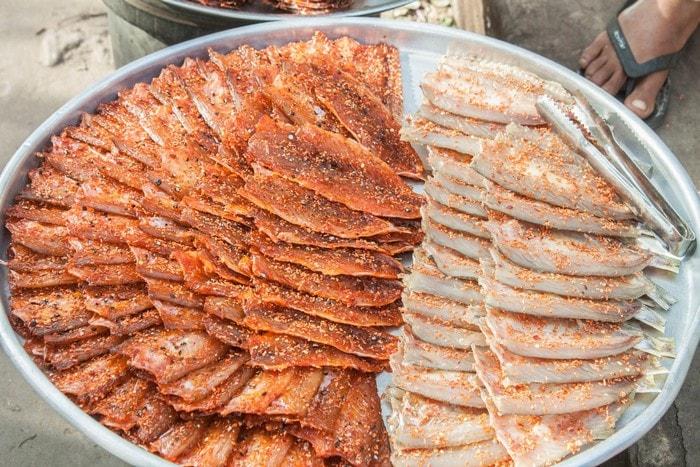 Mua hải sản khô làm quà ở Phú Quốc