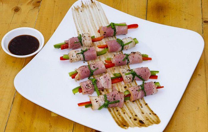Các món ăn ở High View Barbecue là món ăn phù hợp cho cuối tuần ở Sài Gòn