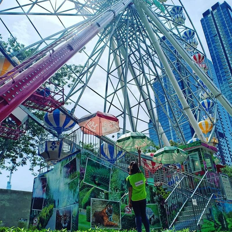 Thảo Cầm Viên là khu vui chơi rất nổi tiếng ở Sài Gòn