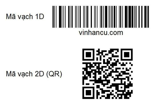 Tem chống hàng giả barcode 2D