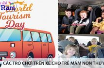 Các trò chơi trên xe cho trẻ mầm non thú vị nhất 1