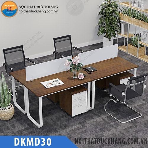 Cụm bàn làm việc 4 nhân viên DKMD30