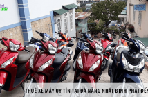 Thuê xe máy uy tín tại Đà Nẵng nhất định phải đến MOTOGO
