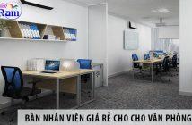 Mua bàn nhân viên giá rẻ cho cho văn phòng nhỏ