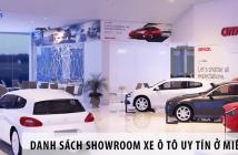 Danh sách các showroom xe ô tô uy tín ở Miền Nam