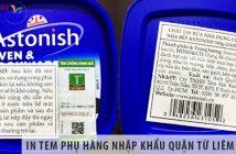 In tem phụ hàng nhập khẩu quận Từ Liêm ở đâu rẻ nhất?