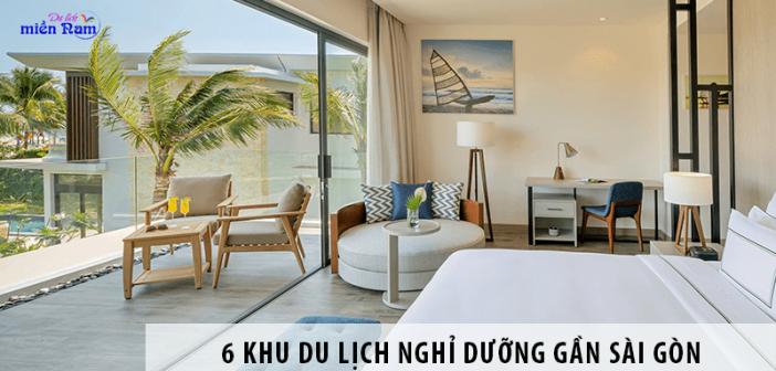 Đưa nhau đi trốn tới 6 khu du lịch nghỉ dưỡng gần Sài Gòn